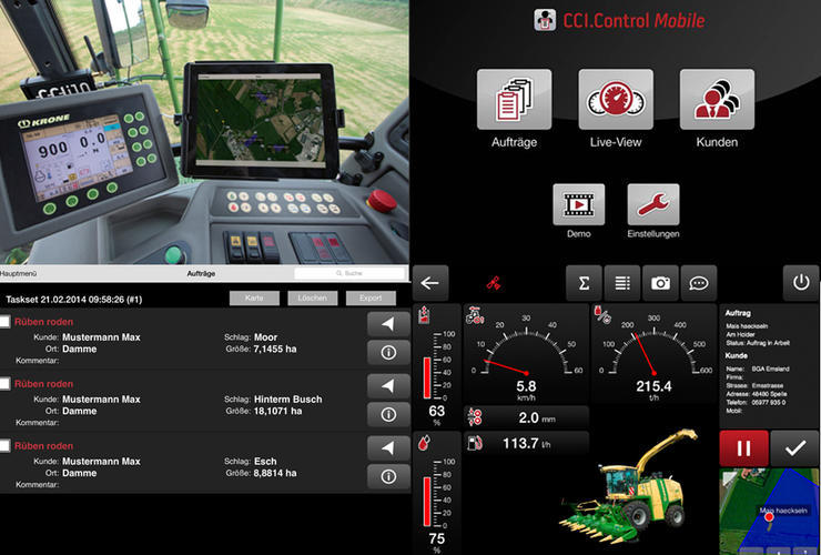 CCI.Control Mobile vom Competence Center ISOBUS