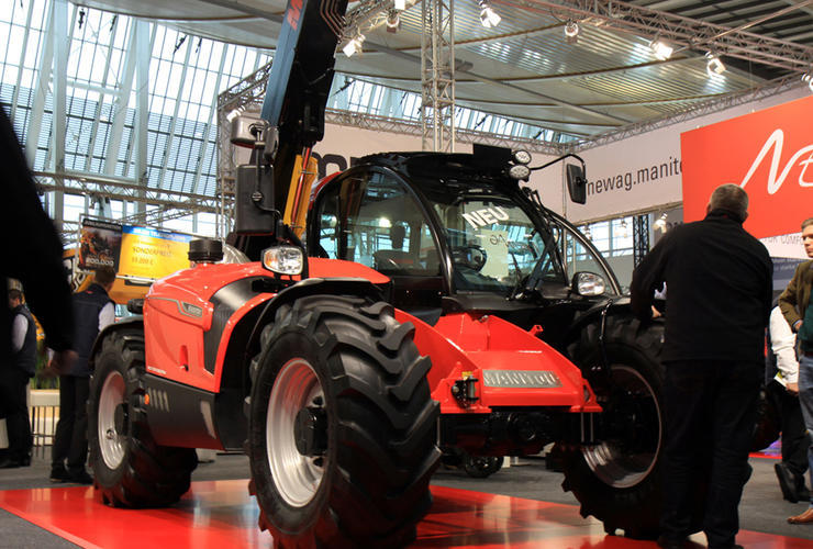 Manitou NewAg MLT 635-130 PS+