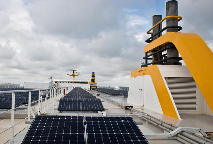 MS Texelstroom Solarmodule