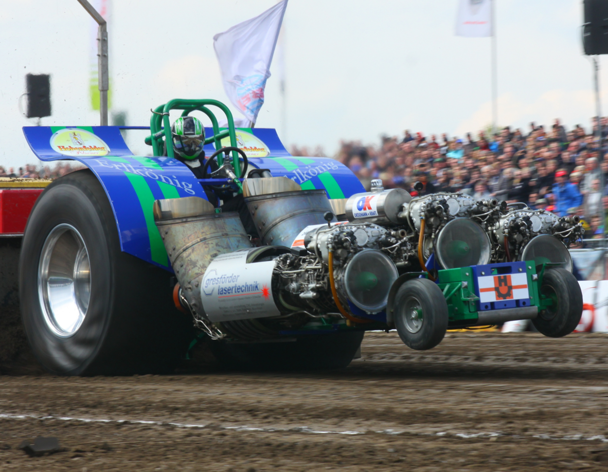 Tractor pulling krumbach 2020