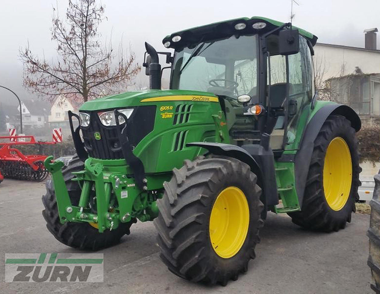 traktor john deere 6105r f r euro zu haben. Black Bedroom Furniture Sets. Home Design Ideas