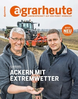 Cover agrarheute April 2018