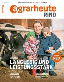 Cover agrarheute Rind April 2018