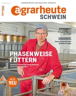Cover agrarheute Schwein April 2018