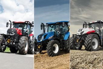Case IH Maxxum Multicontroller ActiveDrive 8, New Holland Dynamic Command & Steyr Profi S-Control 8