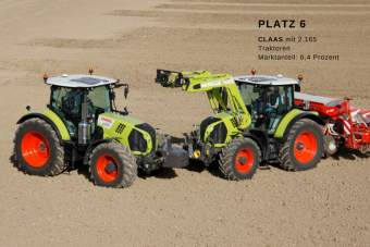 Traktor Claas Arion