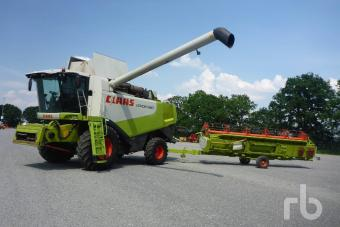 RB Auction Claas Lexion 560