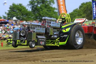 Tractorpulling-Green Monster