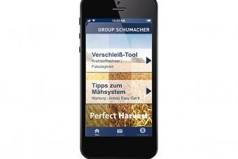 Perfect Harvest App von Group Schumacher