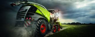 traction Claas Jaguar 40.000 Terra Trac