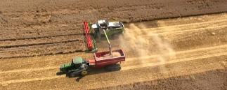 Controlled Traffic Farming auf dem Betrieb Agrovation