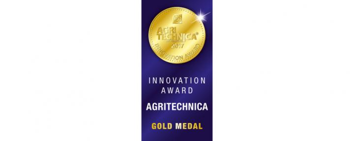 Agritechnica Innovationspreis 2017 in Gold