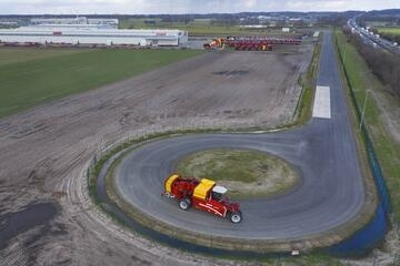 Teststrecke Grimme in Rieste