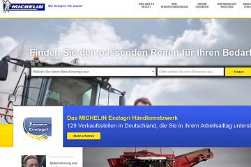 Michelin – optimierte Website