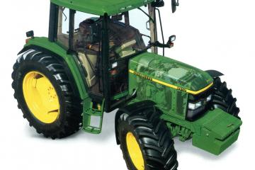 John Deere 6010 transparent
