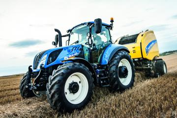 New Holland T5: Gewinner des Tractor of the year 2017