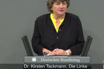 Kirsten Tackmann, Linke