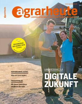 agrarheute Cover September 2018