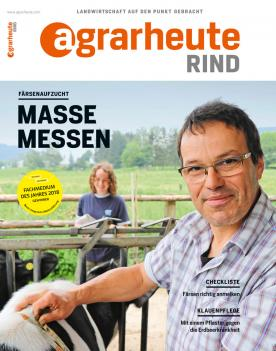 agrarheute RIND Cover September 2018