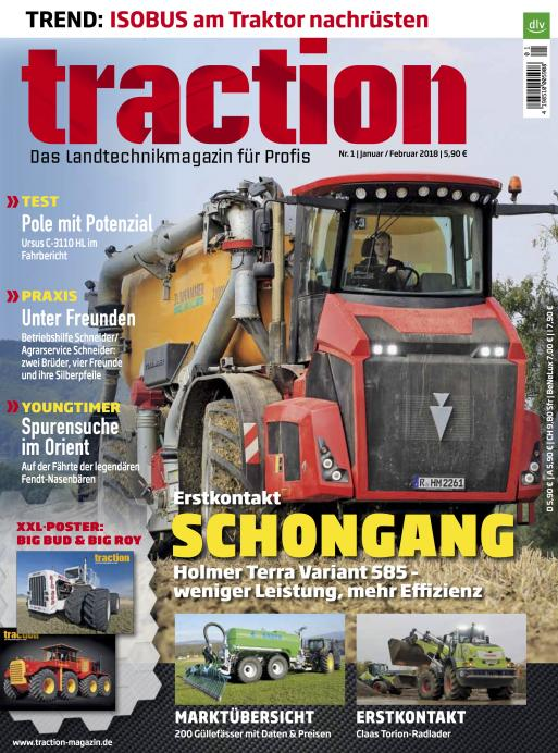 traction 1/2018 Cover 1
