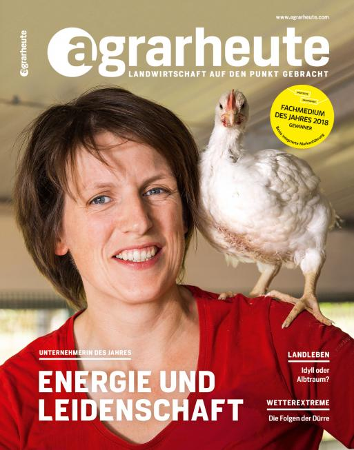 agrarheute Cover August 2018