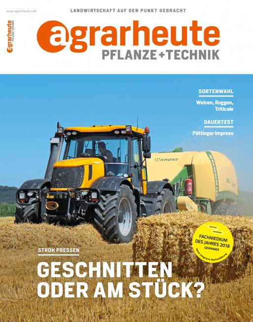 agrarheute PT Cover August 2018