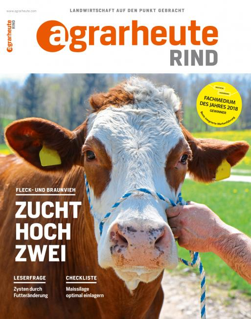 agrarheute RIND Cover August 2018