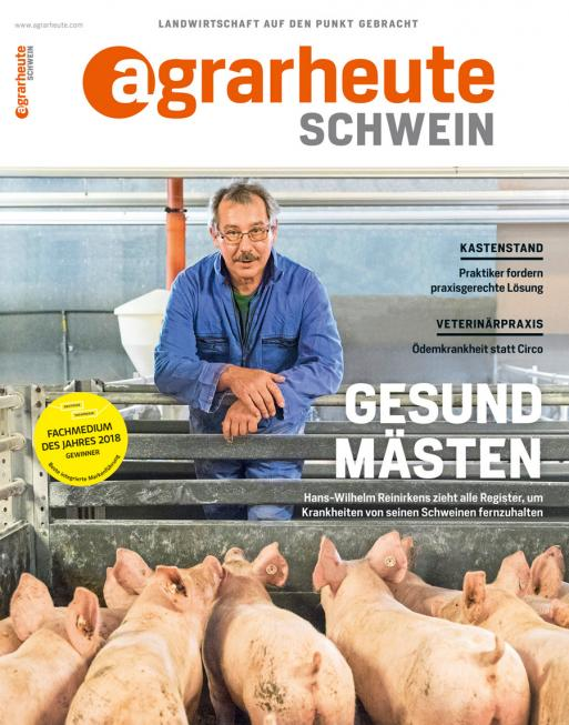 agrarheute SCHWEIN Cover September 2018