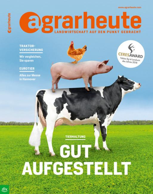 agrarheute Cover November 2018