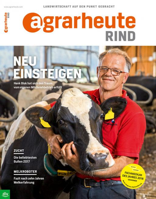 agrarheute RIND Cover November 2018