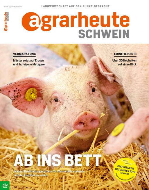 agrarheute SCHWEIN Cover November 2018