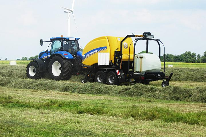 New Holland Roll Belt Combi Press-Wickel-Kombination