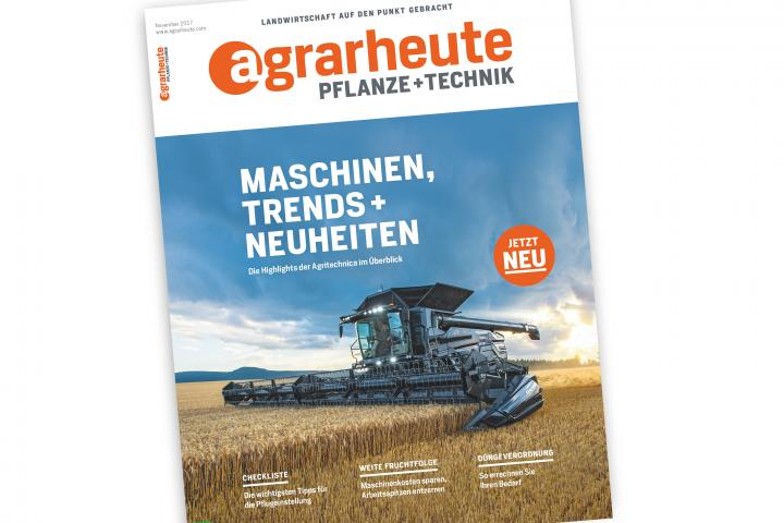 agrarheute-Cover-Pflanze-und-Technik-November-2017