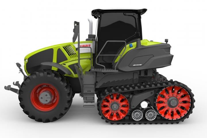 Claas AXION 900 TERRA TRAC