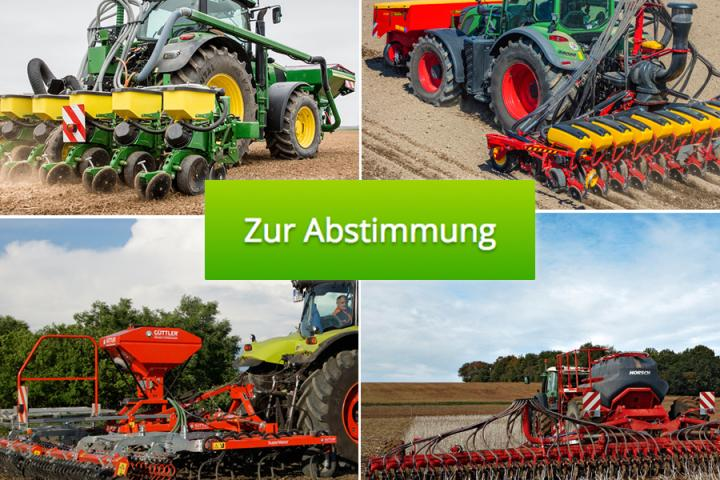 Landtechnik-Innovationen in Bodenbearbeitung/Aussaat